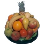 Deliver a selection of fresh fruit of export quality from South Africa presented in a tray - Click to enlarge